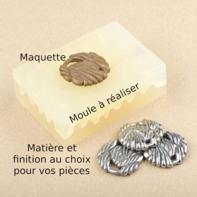 Reproduction de pièces à partir de votre maquette autre que bague et bracelet
