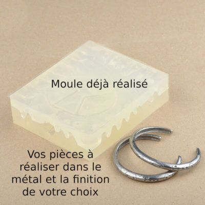 Production de bracelet à partir de votre moule déjà réalisé